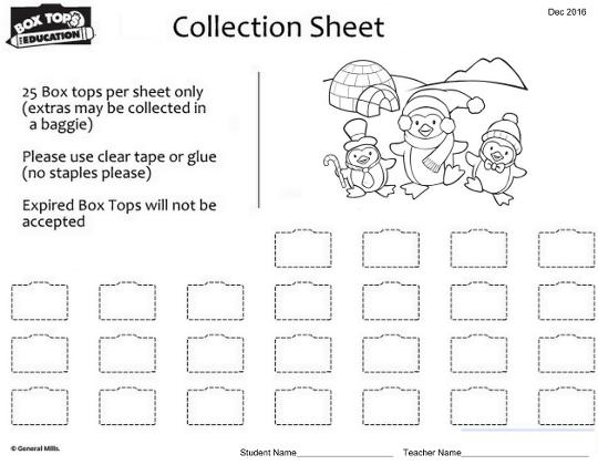 picture about Printable Box Top Collection Sheets named 83 BOX TOPS PRINTABLE WORKSHEETS
